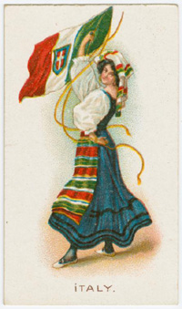 Italy's national costume
