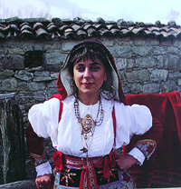 Moliste traditional costume