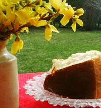 Italian Baba Rum Cake Recipe