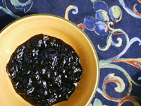 Wine grape marmalade